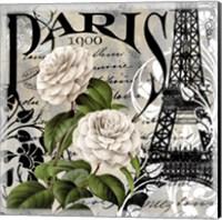 Paris Blanc II Fine Art Print