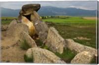 Sacred burial site near Elvillar village, La Rioja, Spain Fine Art Print