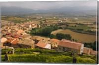 San Vicente de la Sonsierra village, La Rioja, Spain Fine Art Print