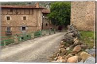 Small rural village, La Rioja Region, Spain Fine Art Print