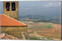 View of San Vicente de la Sonsierra Village, La Rioja, Spain Fine Art Print