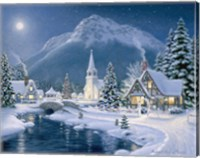 Christmas Village Fine Art Print
