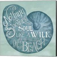 Walk on the Beach Fine Art Print