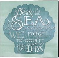 Beside the Sea Fine Art Print