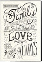 Forever and Always Fine Art Print