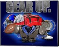 Gear Up Football Fine Art Print