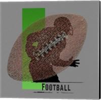 Football Player Fine Art Print