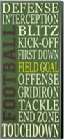 Football Fine Art Print