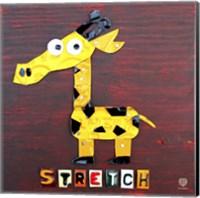 Stretch The Giraffe Fine Art Print