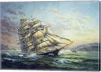 Clipper Ship Surprise Fine Art Print