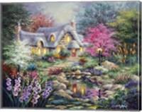 Cottage Pond Fine Art Print