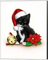 Santa Claws Fine Art Print