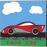 Race Car Fine Art Print