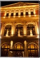Vienna Music Hall, Philharmonic Orchestra Fine Art Print