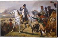 Painting of Napoleon in Hall of Battles Fine Art Print