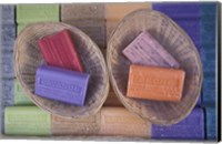 Traditional Soaps, Marseille, France Fine Art Print