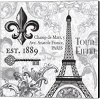Paris SQ Fine Art Print