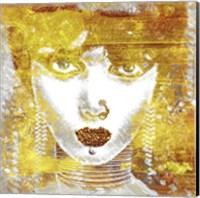 Gold Girl Fine Art Print
