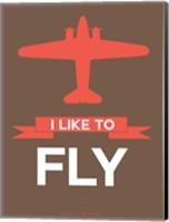 I Like to Fly 6 Fine Art Print