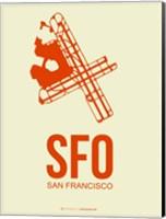 SFO San Francisco 1 Fine Art Print