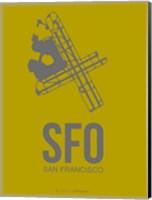 SFO San Francisco 3 Fine Art Print