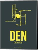 DEN Denver 1 Fine Art Print