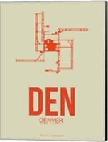 DEN Denver  2 Fine Art Print