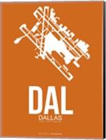 DAL Dallas 2 Fine Art Print