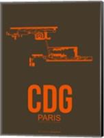 CDG Paris 3 Fine Art Print