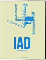 IAD Washington 1 Fine Art Print