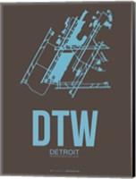 DTW Detroit 1 Fine Art Print