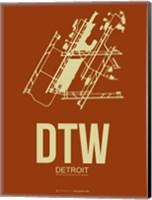 DTW Detroit 2 Fine Art Print