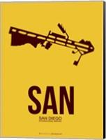 SAN San Diego 1 Fine Art Print