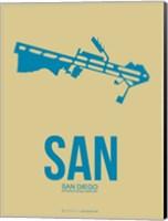 SAN San Diego 3 Fine Art Print