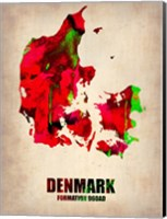 Denmark Watercolor Fine Art Print
