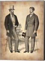 Vintage Victorian Man 1 Fine Art Print