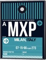 MXP Milan Luggage Tag 2 Fine Art Print