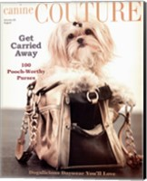 Canine Couture-Carrie Away Fine Art Print