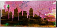 Sydney City Skyline Fine Art Print