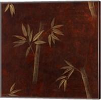 Red Bamboo Fine Art Print