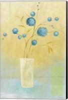 Blue Delight Fine Art Print