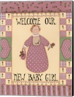 Welcome Baby I Fine Art Print
