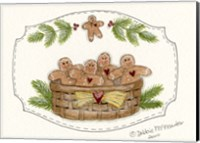 Basket Of Gingerbread Fine Art Print