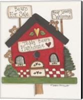Teddy Bears Playhouse Fine Art Print
