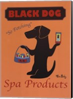 Black Dog Spa Products Fine Art Print