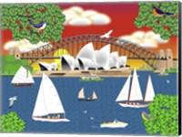 Dream of Sydney Fine Art Print