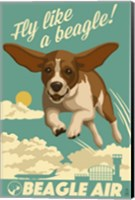 Fly Like a Beagle Fine Art Print