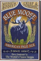 Blue Moose Pale Ale Fine Art Print