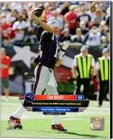 Tom Brady 400th Career Touchdown Pass September 27, 2015, in Foxborough, MA. Fine Art Print