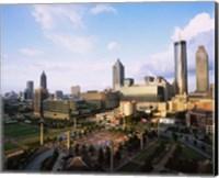 Centennial Olympic Park, Atlanta, Georgia Fine Art Print